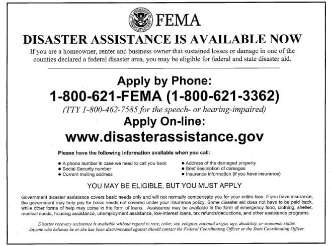 FEMA Flyer English (2)