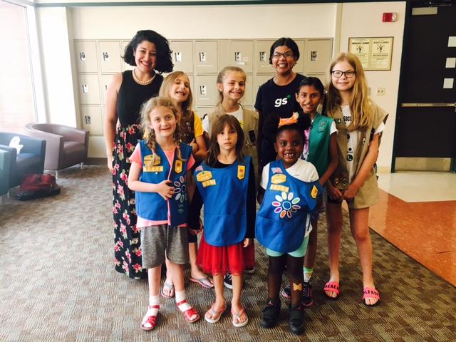 Girl Scouts PB & J Operation