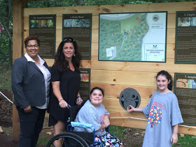 Rebecca and the Parellos at Sensory Friendly Trail