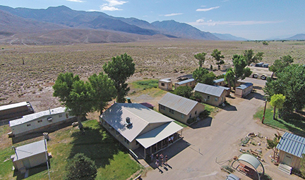 Owens Valley Station serves as a home base for researchers studying throughout eastern California. Image credit: Art Sylvester