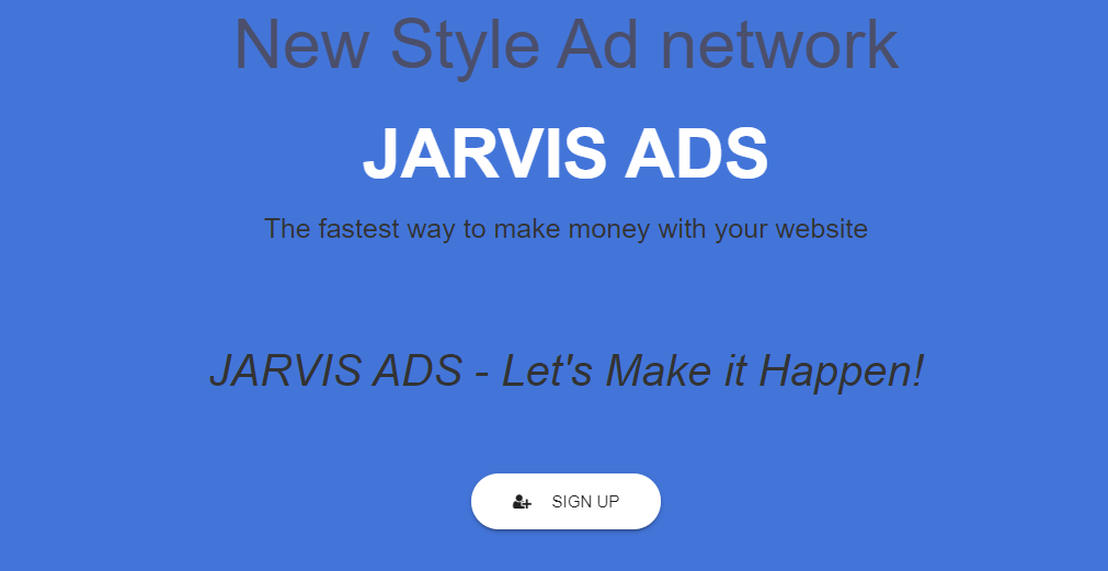 Jarvis Ads Home