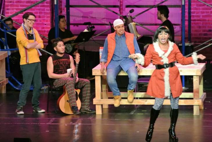 Mystic Vision Players' production of RENT at the UCPAC Main Stage (2014)