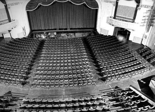 Theatre Interior from Projection Booth 1991