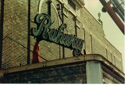 Original Rahway Theatre Marquee