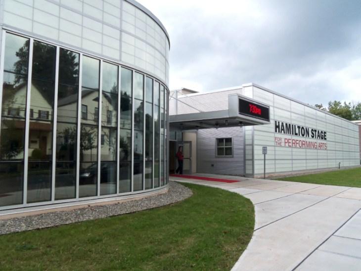 The Hamilton Stage Exterior