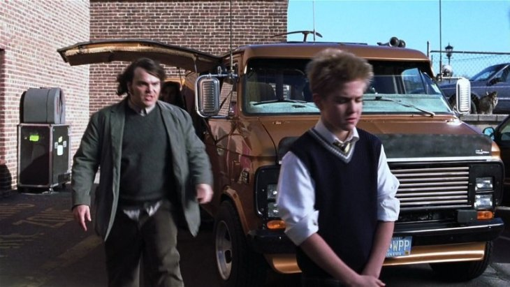 During the filming of School Of Rock (2003) - shots were used of the UCPAC Main Stage's exterior and interior