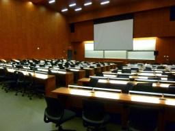 Front of Auditorium- the full auditorium seats roughly 360 people.