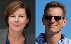 Lisa Porter and Matthew Herbst