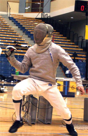 UCSD Fencing (Photo / UCSD)