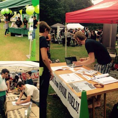 More Eco Clubs at UC Clubs day: DigSoc, UC Divest and UC Greens - keep an eye out for the green cones! #ucsustain #ucnow UC Community Gardens Canterbury Uni Fossil Free Divestment Club UC Greens
