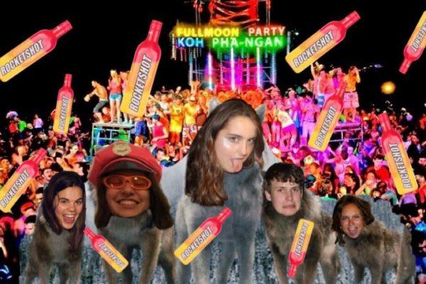 PartyCo Full Moon - UCSA PartyCo