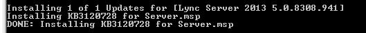 Lync-CUInstaller-Success