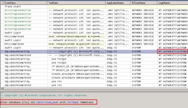 Lync-SQLTracing-Failure