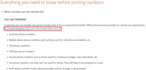 Skype4BOnline-NumberPorting-AllowedCountries