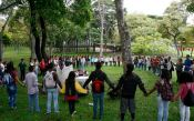 Misas y protestas simbólicas