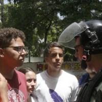 Fotogalería: FCU intenta marchar fuera de la universidad