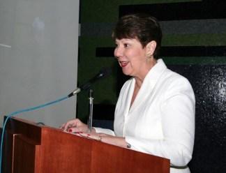 Rectora Cecilia García Arocha