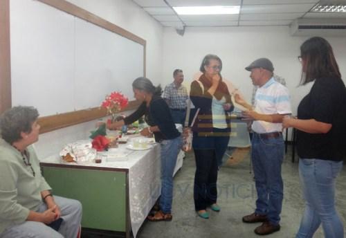 APUFAT realizó compartir navideño para los jubilados y pensionados