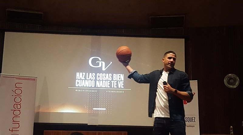 """Greivis Vásquez: """"Con trabajo duro, constancia y disciplina, los sueños se hacen realidad"""""""