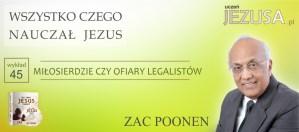 Miłosierdzie czy ofiary legalistów