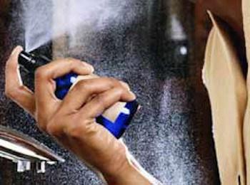 香水をつける量