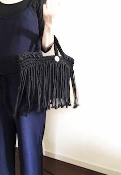 マクラメ編みのレディースにおすすめのおしゃれなハンドバッグ