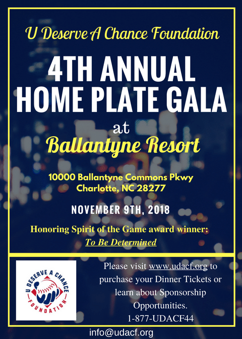 2018 Home Plate Gala