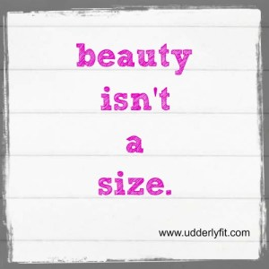 Beauty is not a Size