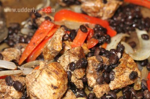 21 Day Fix Chicken Black Bean Fajitas