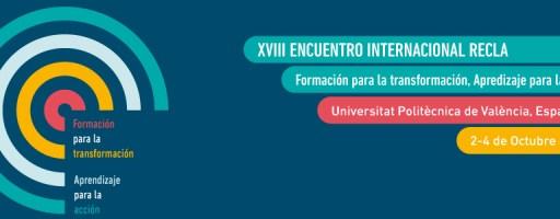 XVIII ENCUENTRO INTERNACIONAL – RECLA 2013