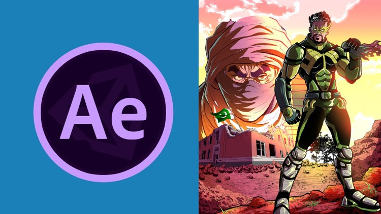 Adobe After Effects: Learn Comic Book Animation Free Download