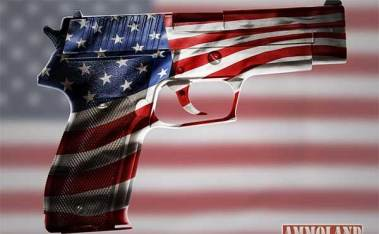 Red-White-and-Blue-Flag-Hand-Gun