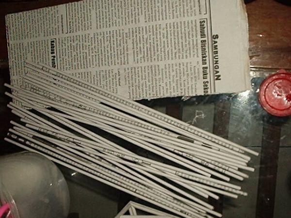 15 Kerajinan Dari Koran yang Sangat Berpeluang Menjadi ...