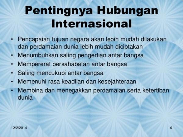 pengertian hubungan internasional