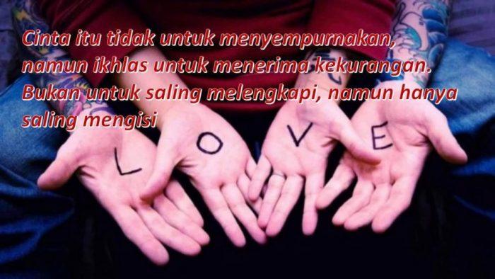Gambar kata kata Mutiara Romantis