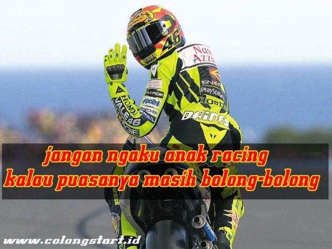 Gambar kata kata Racing
