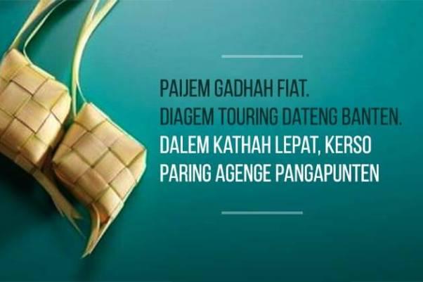 100 Ucapan Idul Fitri Bahasa Jawa Bahasa Arab Terbaru [update]