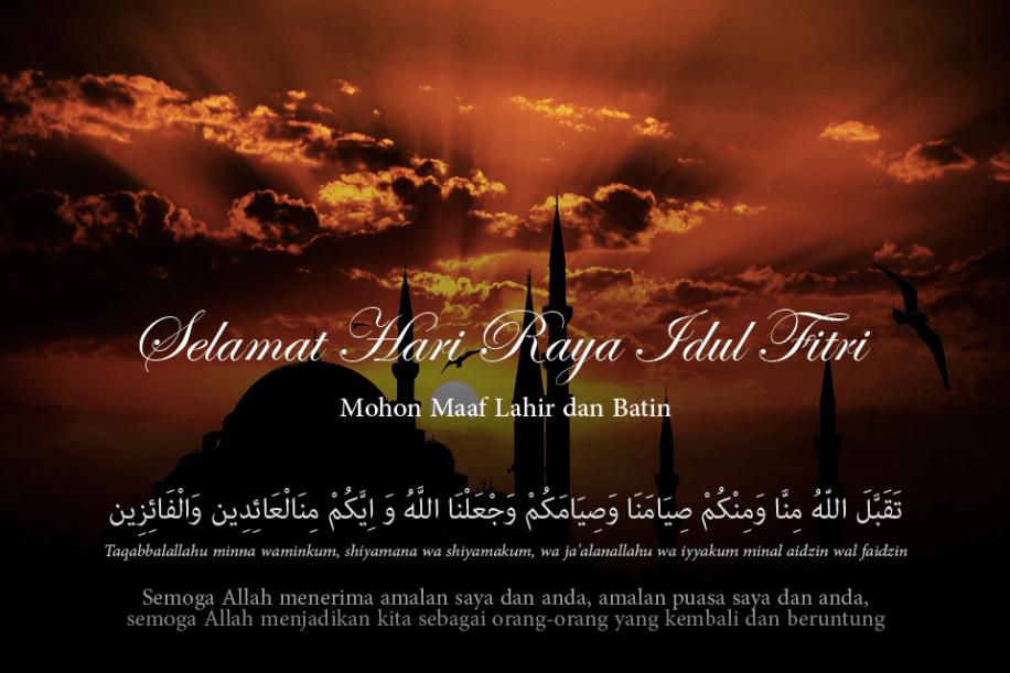 100 Ucapan Idul Fitri Bahasa Jawa Bahasa Arab Terbaru Update