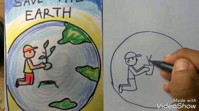Gambar Gotong Royong Kartun Yang Mudah Digambar | Ideku Unik