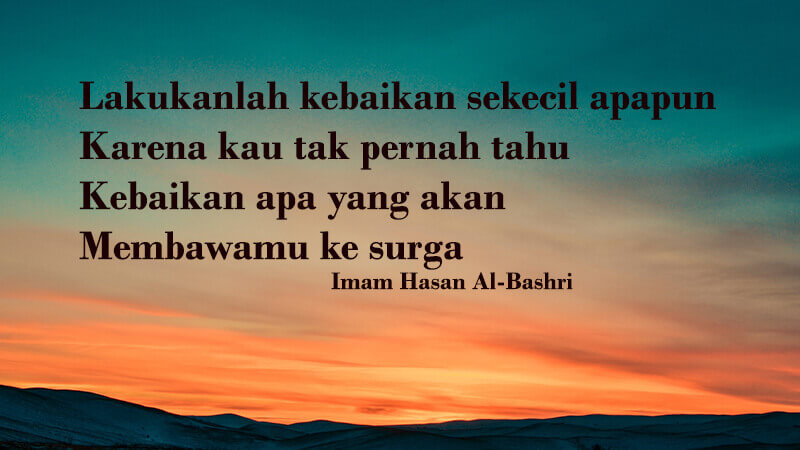 Kata Kata Inspirasi Islami