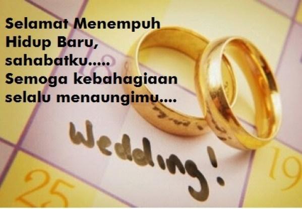 Ucapan Pernikahan Untuk Sahabat & Teman