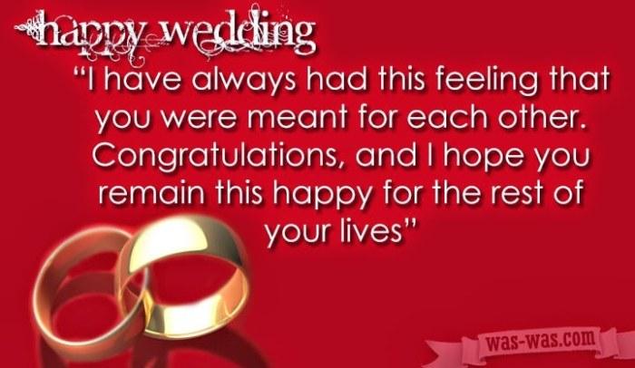 Ucapan Selamat Menikah