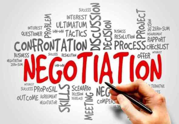 contoh teks negosiasi