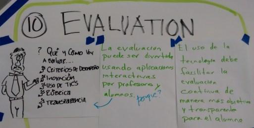 (10) Evaluatcíon