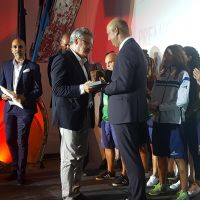 La U.D. Granadilla Tenerife Egatesa recibe el premio Embajadoras Magallanes-Elcano 2016