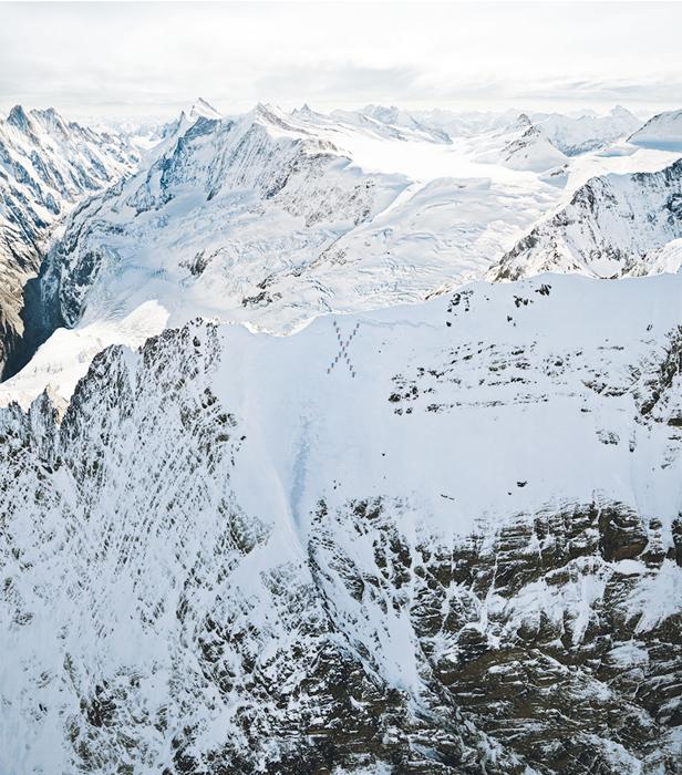 Экстремальная фотосессия на горе Маттерхорн. Фото