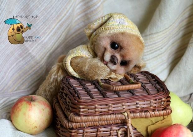 Игрушки из войлока Юлии Юркевич. Фото