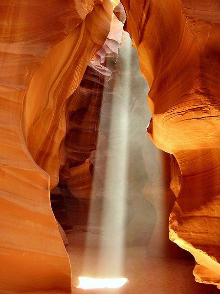 Верхний каньон Антилопы. Фото