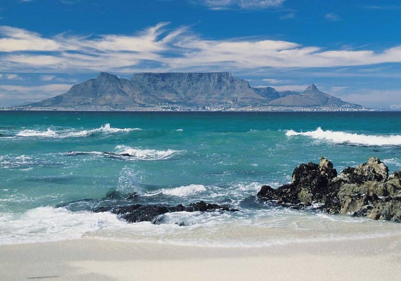 Столовая гора (национальный парк). Фото / Table Mountain (South Africa). Photo