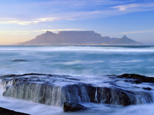 Столовая гора (ЮАР). Фото / Table Mountain (South Africa). Photo